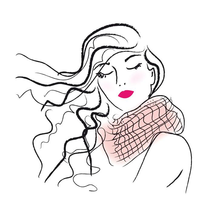 illustration-femme-cheveux-au-vent