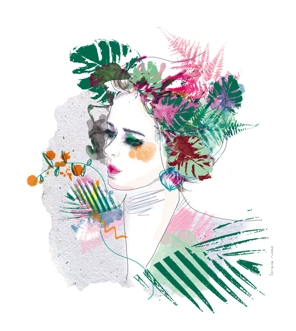 illustration-portrait-vegetal