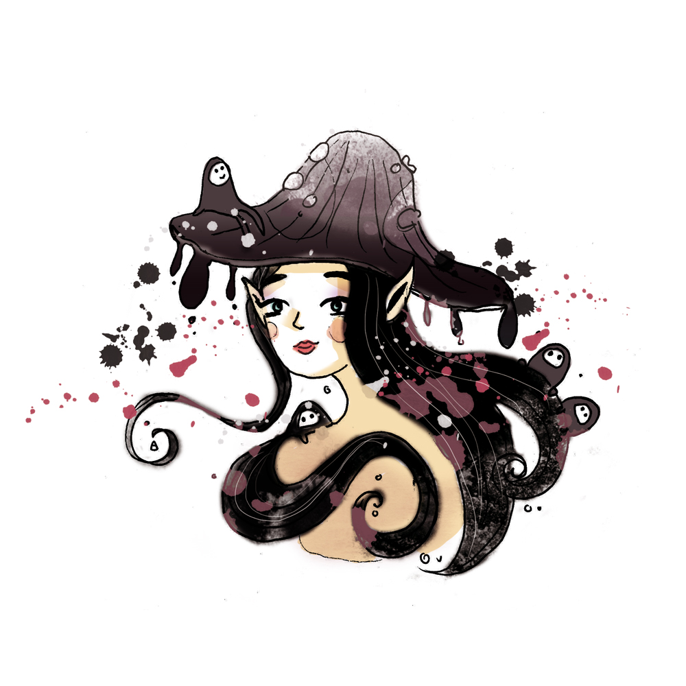 champignon femme