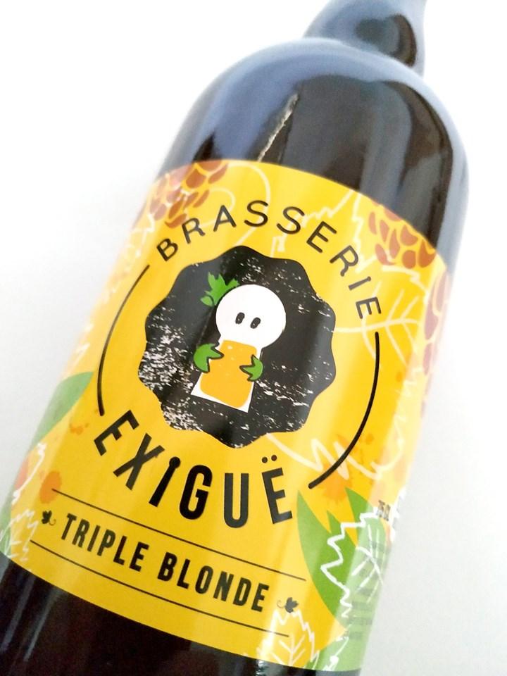 biere etiquette brasserie exigue
