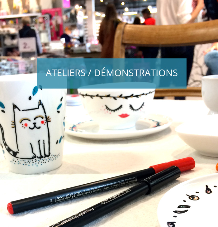ateliers créations démonstrations lille