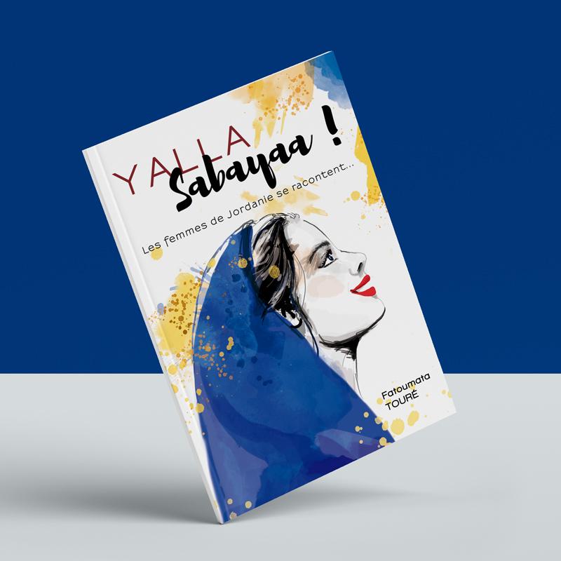 couverture illustrée livre Yalla Sabaya