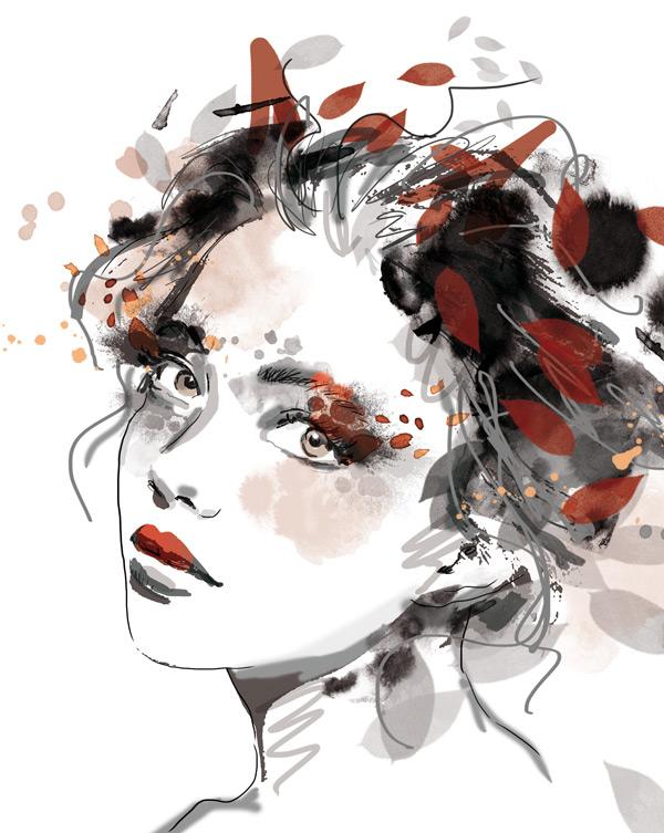illustration portrait pack