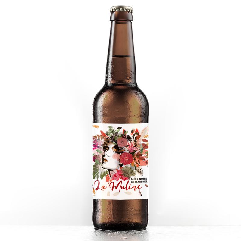graphisme etiquette biere